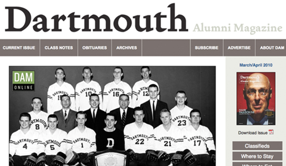Dartmouth Alumni Magazine / Dartmouth College
