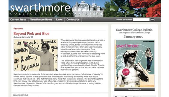 Swarthmore College Bulletin / Swarthmore College