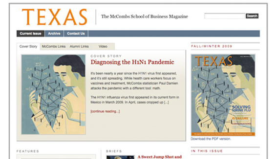 The McCombs School of Business Magazine / Texas University