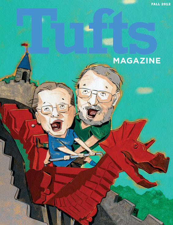 Tufts Magazine Fall 2012 Cover
